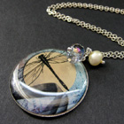 Handmade Picture Pendant Charm Necklaces